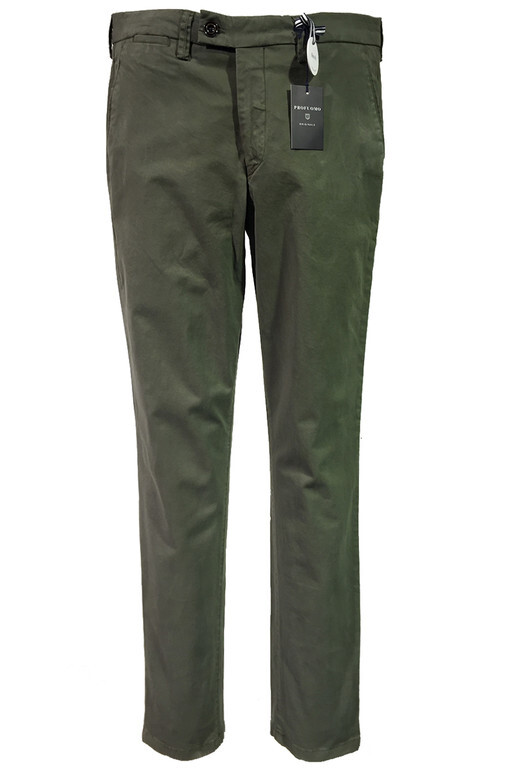 ADAM CHINOS OLIVEGRÖN SLIM FIT