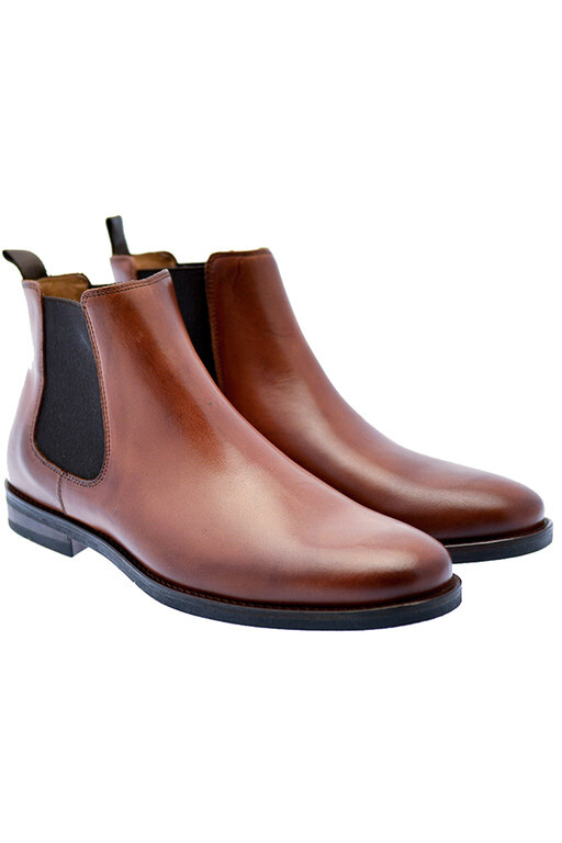 PLAYBOY CHELSEA BOOTS BROWN